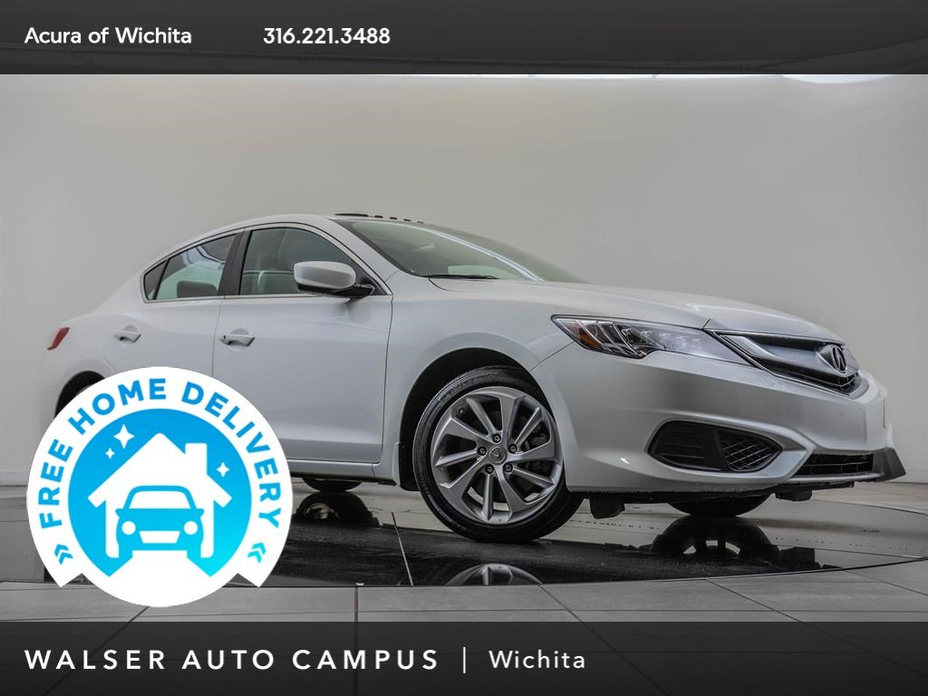 Pre-Owned 2017 Acura ILX Moonroof