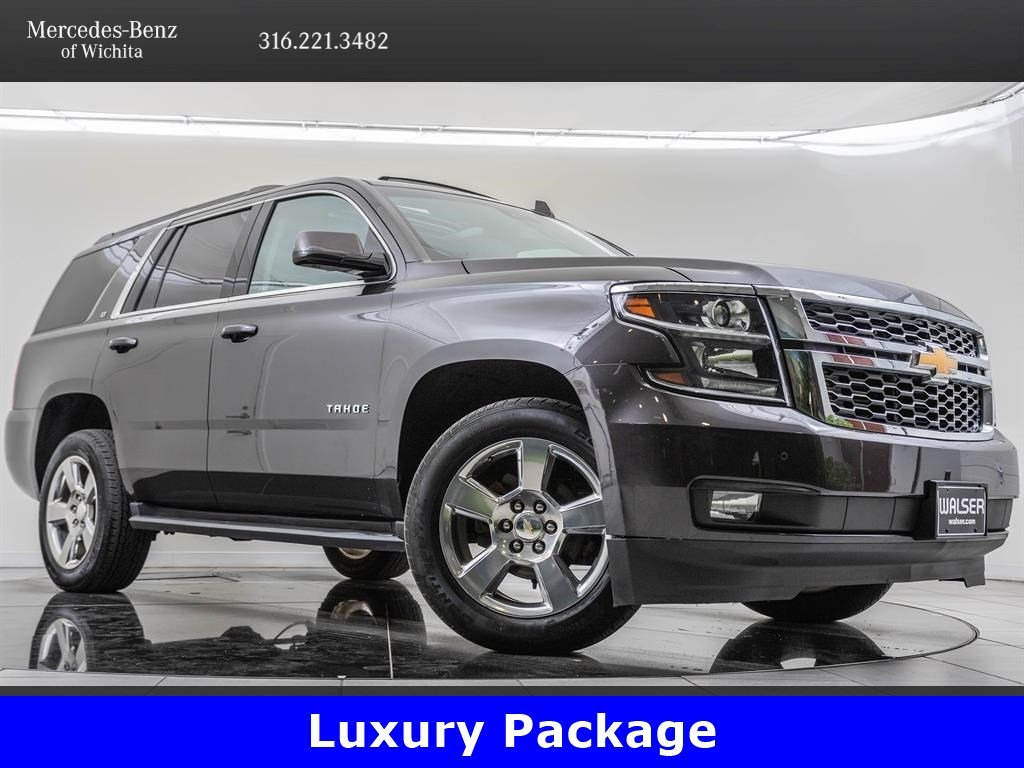Pre-Owned 2017 CHEVROLET TAHOE LT, Rear Seat Entertainment
