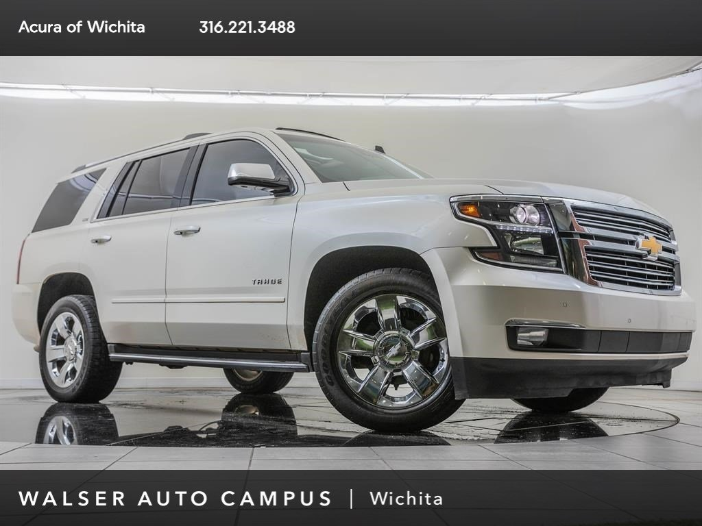Pre-Owned 2015 Chevrolet Tahoe Factory Wheel Upgrade, Navigation