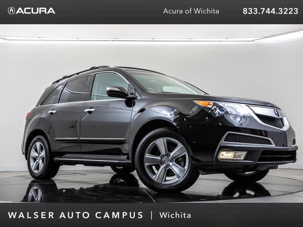 Pre-Owned 2010 Acura MDX Technology Package, Navigation, Moonroof, Leather