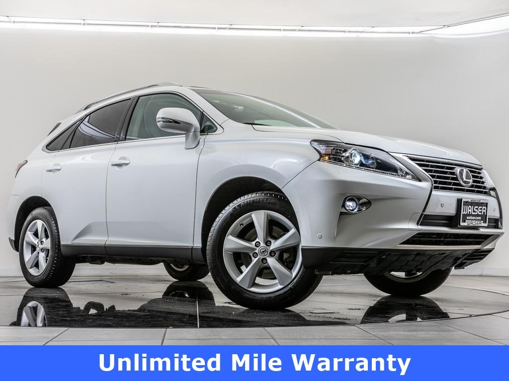 Certified Pre-Owned 2015 Lexus RX 350 Unlimited Mile Warranty, Navigation