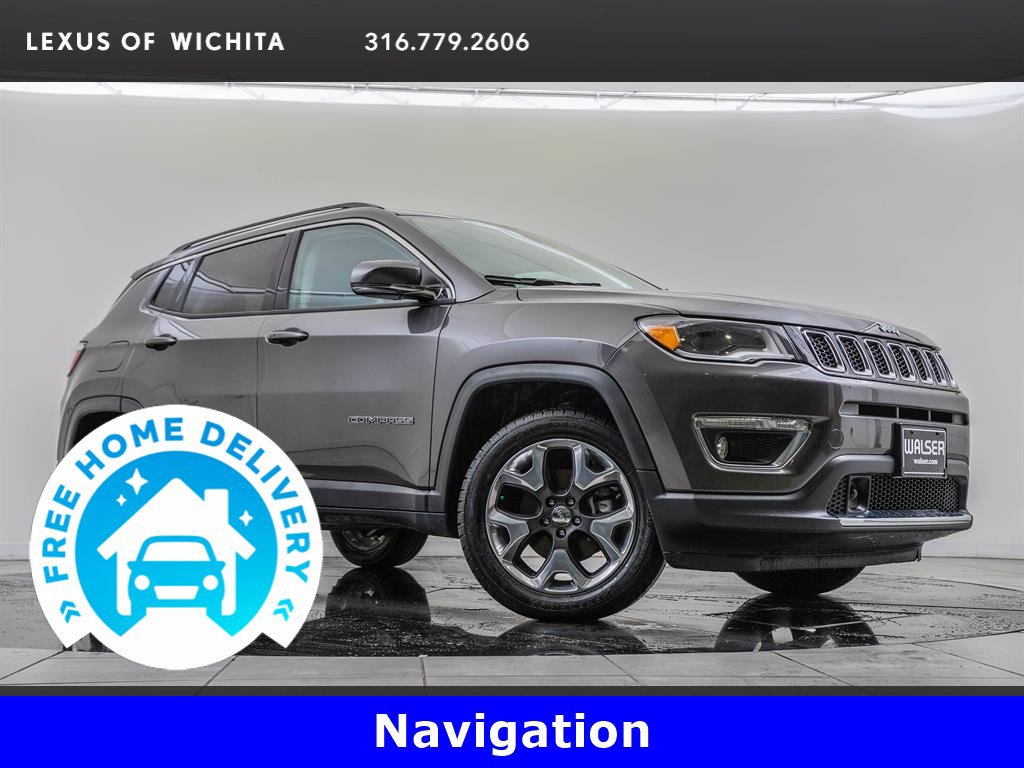 Pre-Owned 2018 Jeep Compass Advanced Safety & Lighting Package