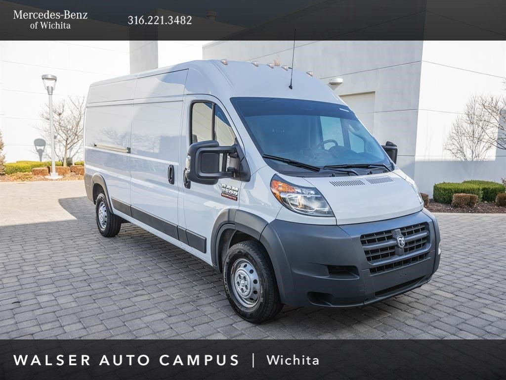 Pre-Owned 2017 Ram ProMaster Cargo Van 3500 High Roof, Customer Preferred Package