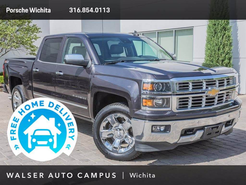 Pre-Owned 2015 Chevrolet Silverado 1500 Driver Alert Package