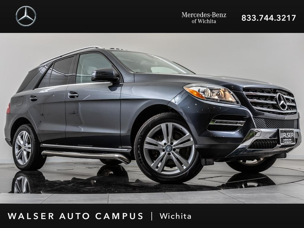 Pre-Owned 2015 Mercedes-Benz M-Class ML 250 BlueTEC 4MATIC, Navigation, Rear View Cam