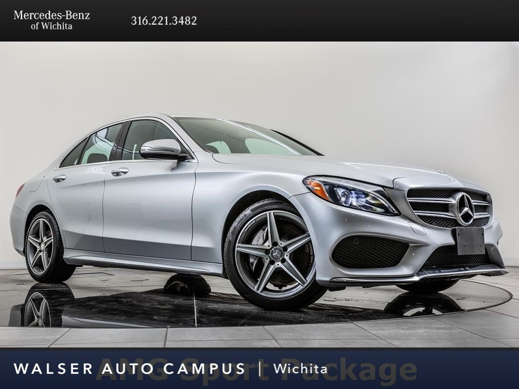Certified Pre-Owned 2015 Mercedes-Benz C-Class C 300 Sport 4MATIC, AMG® Wheels, AMG® Sportline