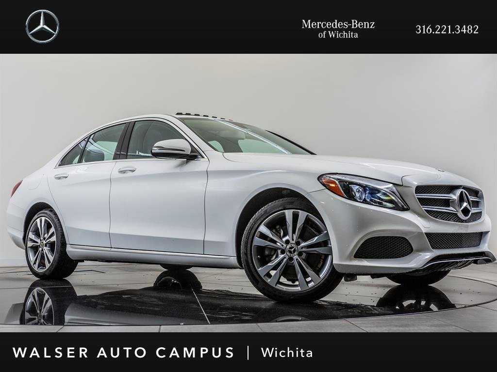 Certified Pre-Owned 2018 Mercedes-Benz C-Class C 300 4MATIC®, Certified Pre-Owned, Blind Spot Ast