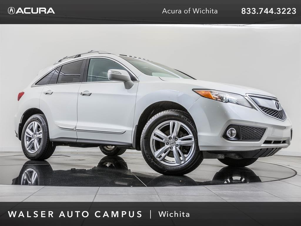 Pre-Owned 2015 Acura RDX Technology Package, Navigation, Moonroof, RV Cam