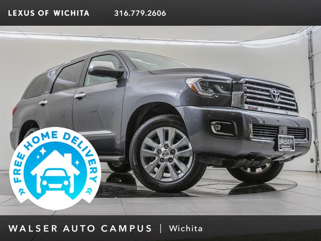 Pre-Owned 2018 Toyota Sequoia Navigation