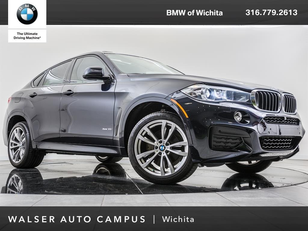 Pre-Owned 2016 BMW X6 xDrive35i, Head-Up Display, Navigation, M Sport