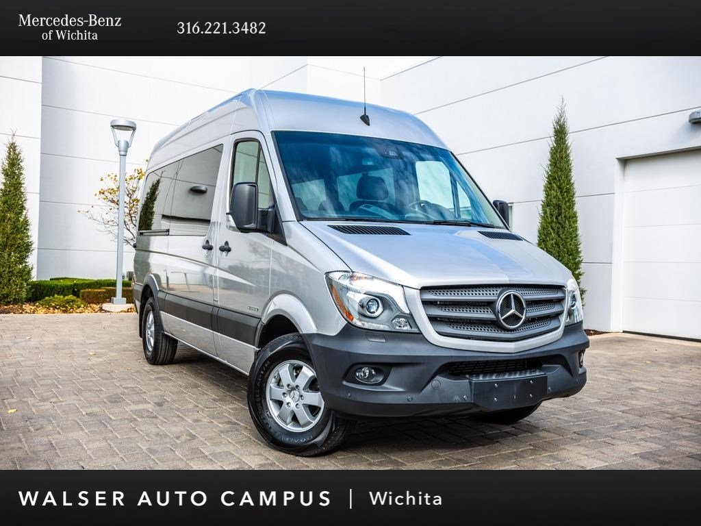 Pre-Owned 2016 Mercedes-Benz Sprinter Passenger Vans 2500 144 WB Passenger, Navigation, Rear View Cam