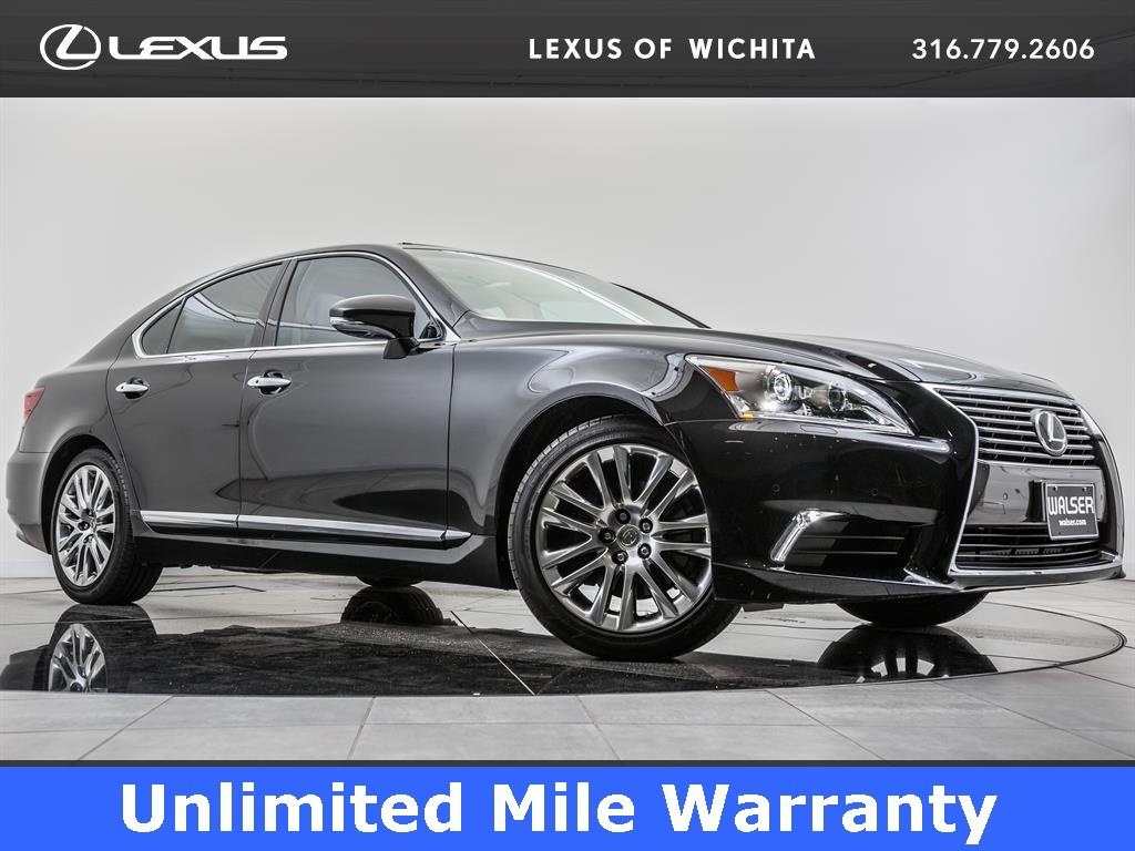 Certified Pre-Owned 2016 Lexus LS 460 L/ Certified, Navigation, Moonroof, Blind Spot Mon