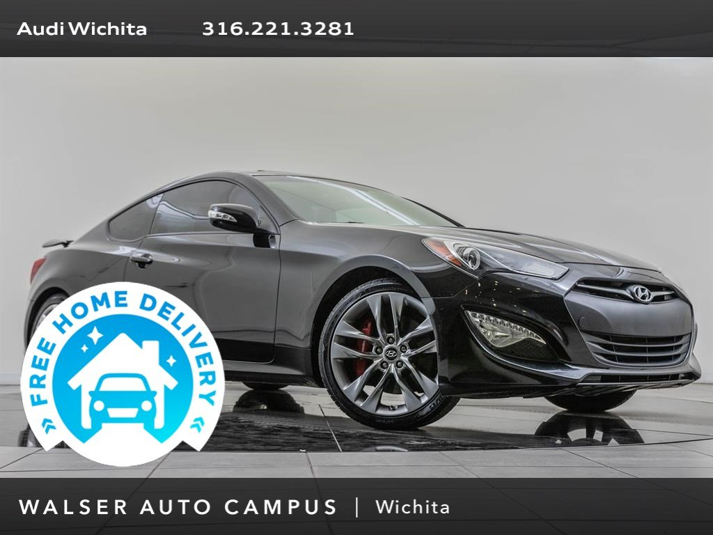 Pre-Owned 2014 Hyundai Genesis Coupe 3.8 Ultimate