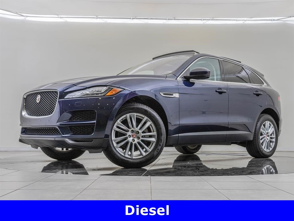 Pre-Owned 2017 Jaguar F-PACE Navigation, Technology Package