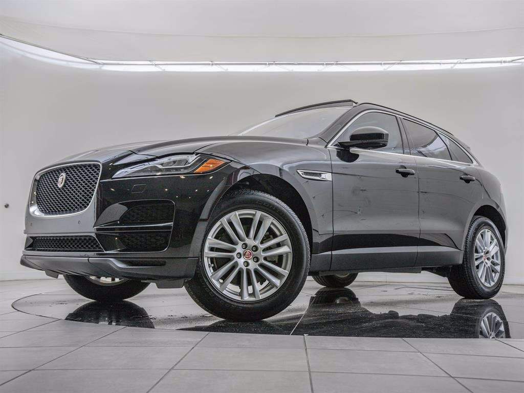 Pre-Owned 2018 Jaguar F-PACE Vision Package