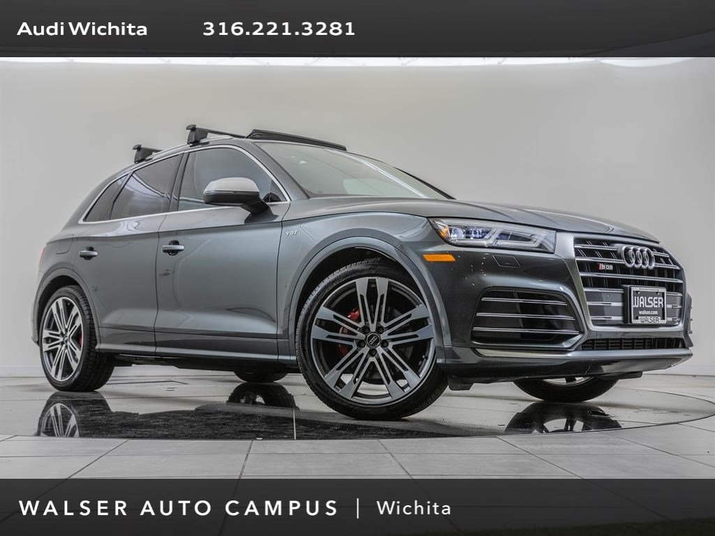 Pre-Owned 2018 Audi SQ5 Factory Wheel Upgrade, Navigation, S-Sport Package