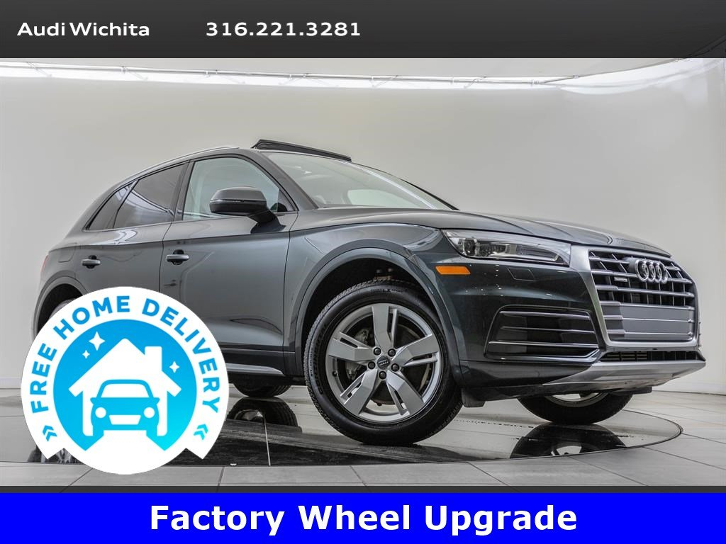 Pre-Owned 2018 Audi Q5 Factory Wheel Upgrade, Navigation, Convenience