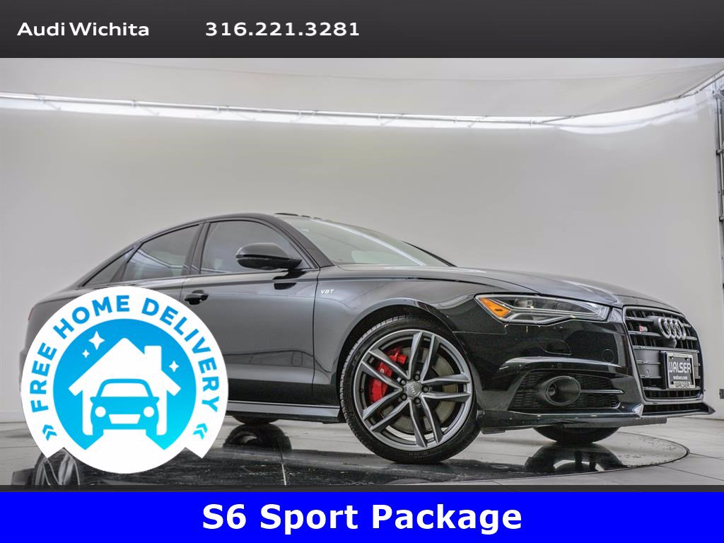 Pre-Owned 2017 Audi S6 Prestige, Driver Assistance Package