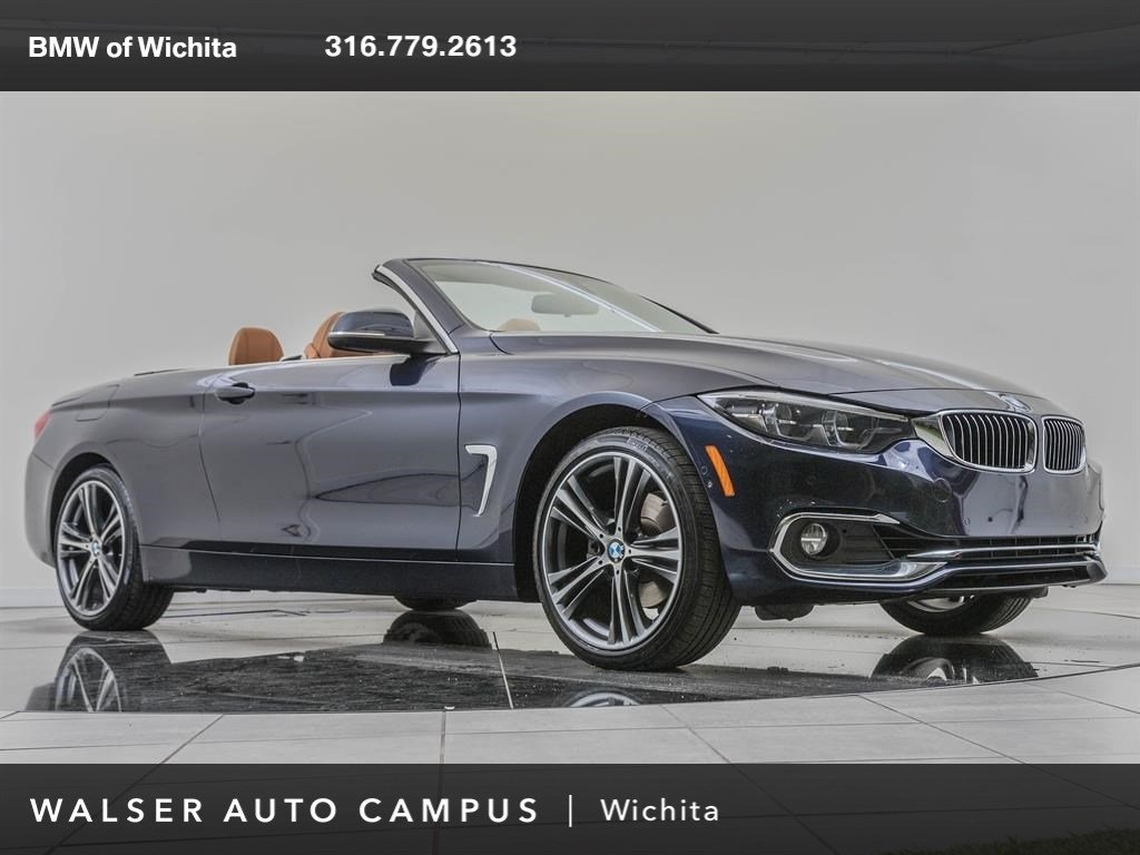 Pre-Owned 2018 BMW 4 Series Factory Wheel Upgrade, Navigation, Premium Package