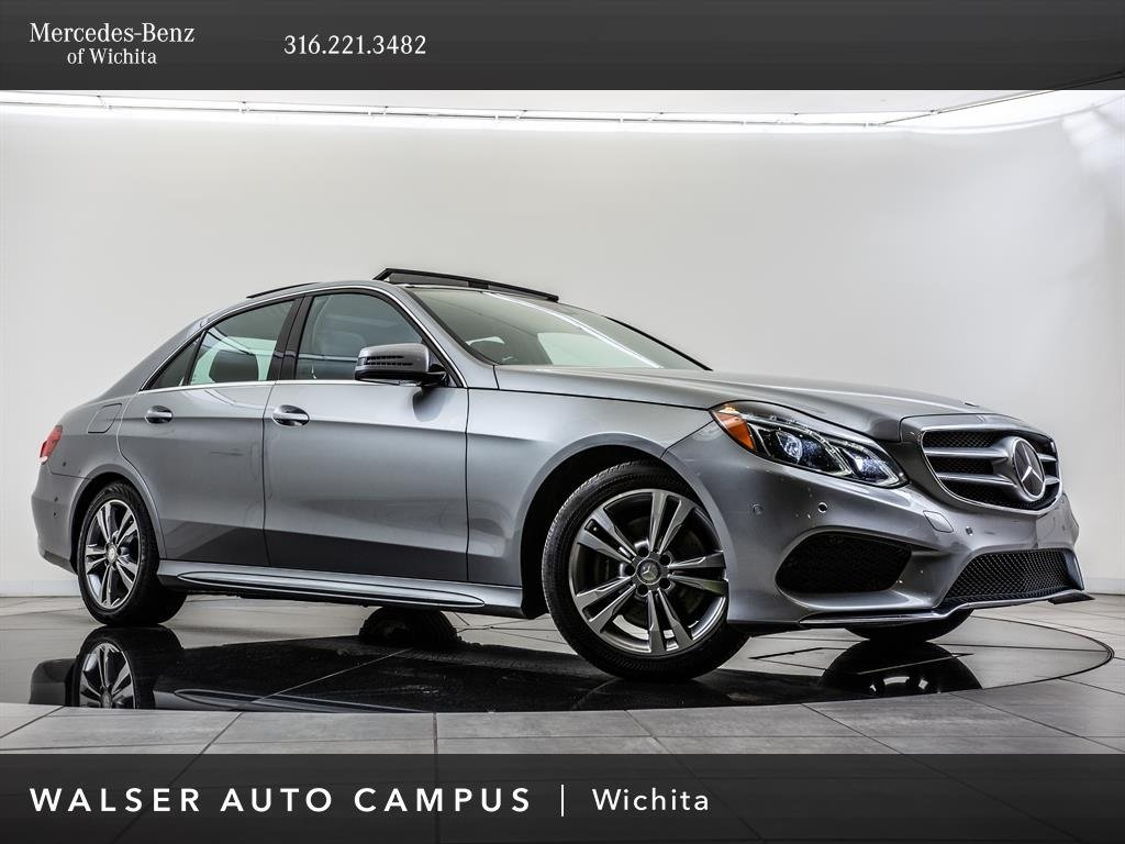 Pre-Owned 2014 Mercedes-Benz E-Class E350 Sport 4MATIC®,