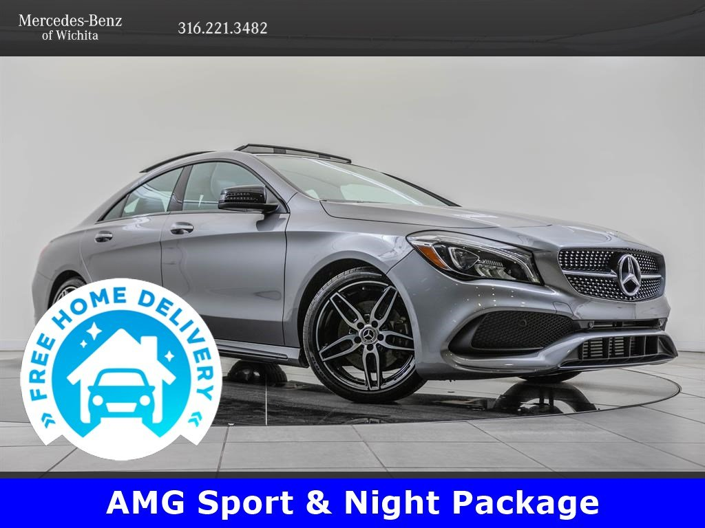 Pre-Owned 2019 Mercedes-Benz CLA AMG® Sport, Premium & Convenience Packages