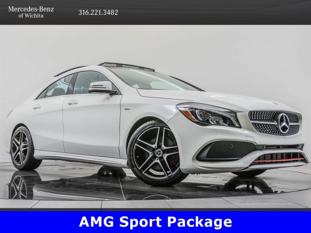 Pre-Owned 2018 Mercedes-Benz CLA CLA 250 4MATIC, AMG® Line