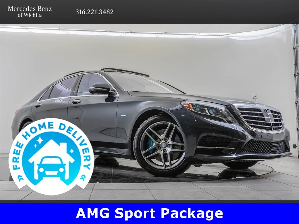 Pre-Owned 2017 Mercedes-Benz S-Class S 550e Plug-In Hybrid, Rear Seat Package