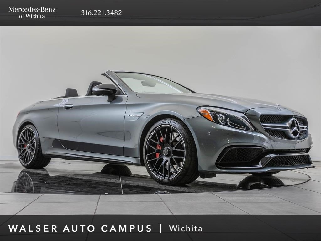 Pre-Owned 2017 Mercedes-Benz C-Class AMG® C 63 S, Navigation, Premium 2 Package