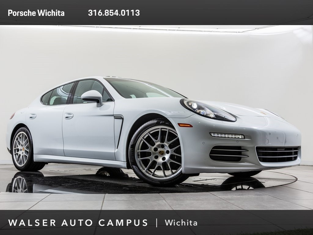 Pre-Owned 2016 Porsche Panamera LED Headlights, Ventilated Front Seats