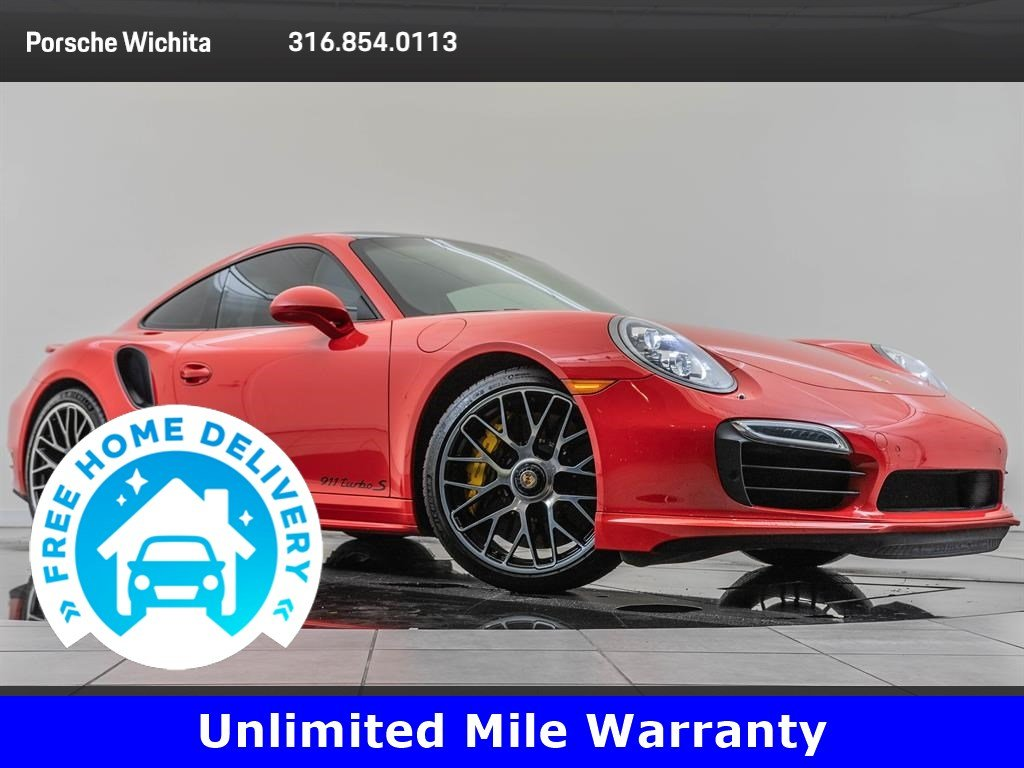 Pre-Owned 2015 Porsche 911 Turbo S Premium Package Plus