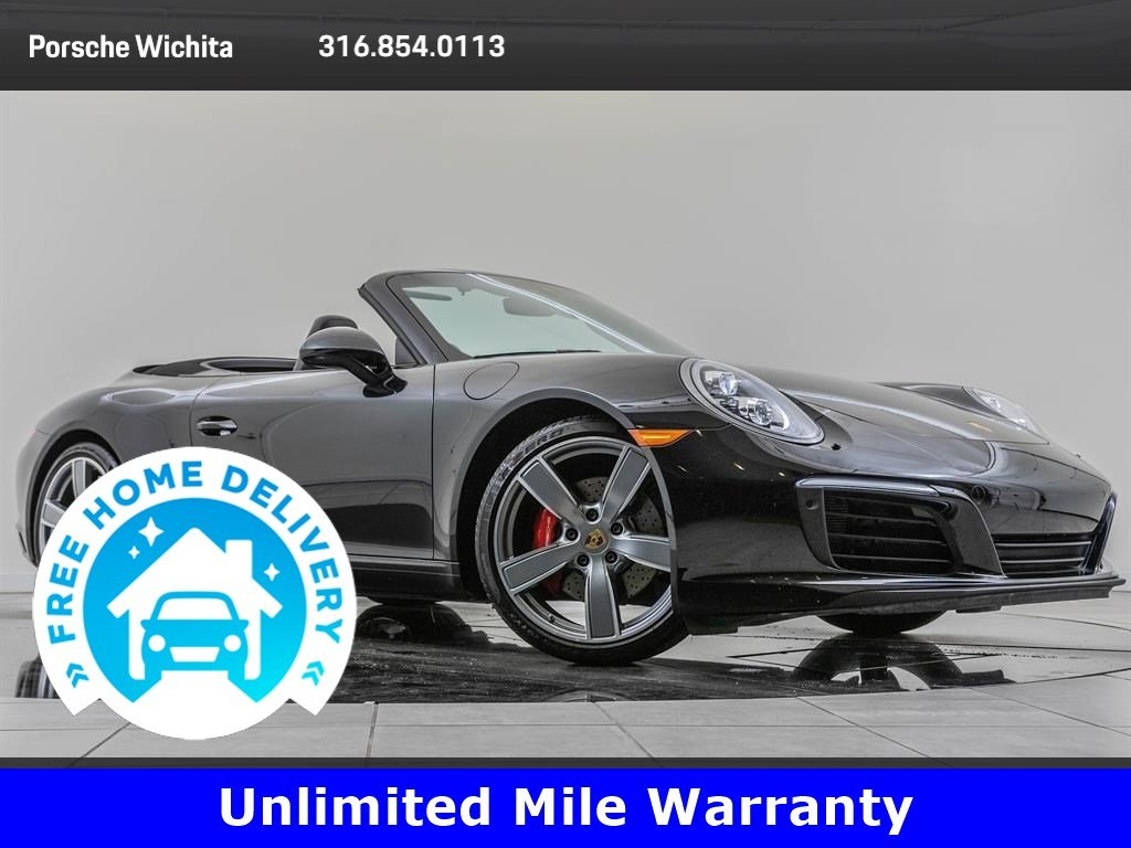 Pre-Owned 2017 Porsche 911 Carrera S Premium Package Plus