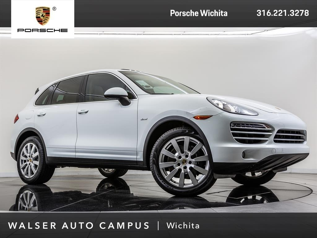 Certified Pre-Owned 2014 Porsche Cayenne Diesel Navigation, Moonroof, Lane Change Assist