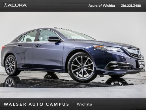 Pre-Owned 2015 Acura TLX Moonroof, Bluetooth, Heated Front Seats