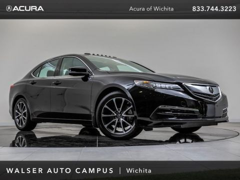 Pre-Owned 2015 Acura TLX Technology Package, Blind Spot Monitor, Navigation