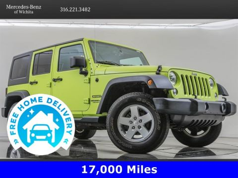 Pre-Owned 2016 Jeep Wrangler Unlimited Sport S Package 24S