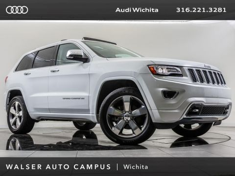 Pre-Owned 2014 Jeep Grand Cherokee Overland, Navigation, Bluetooth, Rear View Camera