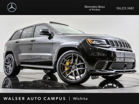 Pre-Owned 2018 Jeep Grand Cherokee Trackhawk, Brembo Brakes, Navigation, Pano Sunroof