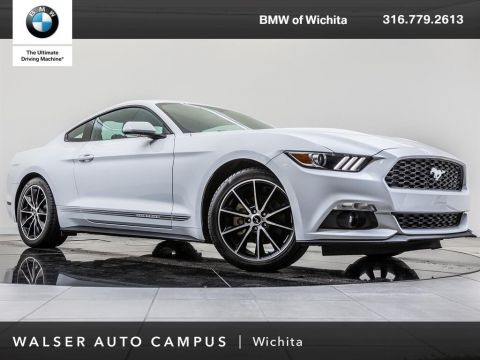 Pre-Owned 2016 Ford Mustang EcoBoost Premium, Rear View Camera, CD Player