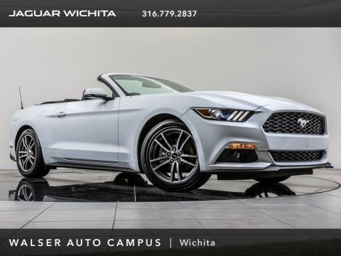 Pre-Owned 2015 Ford Mustang EcoBoost Premium, Rear View Camera, Black Soft Top