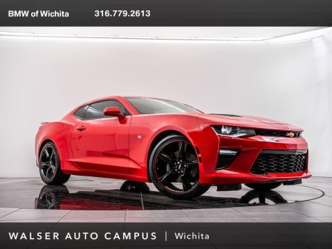 Pre-Owned 2016 Chevrolet Camaro SS 2SS, Head-Up Display, BREMBO Brakes, RV Cam