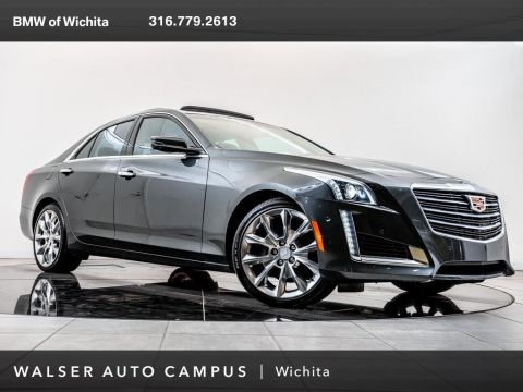 Pre-Owned 2015 Cadillac CTS Sedan Performance, Navigation, Magnesium Paddle Shifters