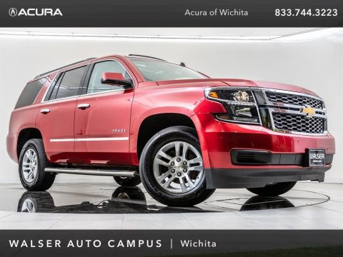 Pre-Owned 2015 Chevrolet Tahoe Rear Entertainment, Navigation, Moonroof, RV Cam