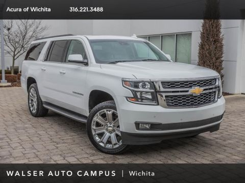 Pre-Owned 2015 Chevrolet Suburban Luxury Package