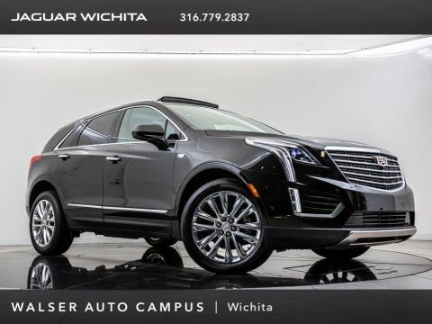 Pre-Owned 2017 Cadillac XT5 Platinum, Navigation, Sunroof, Surround View Cam