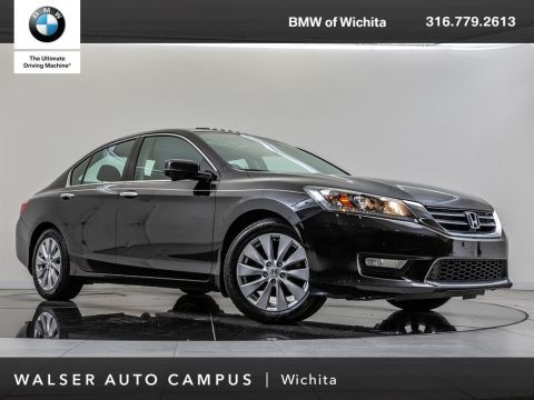 Pre-Owned 2015 Honda Accord Sedan EX, Rear View Camera, Moonroof, Bluetooth