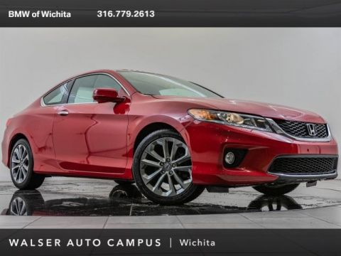 Pre-Owned 2015 Honda Accord Coupe EX-L V-6