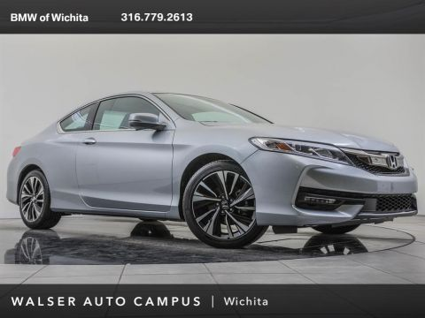 Pre-Owned 2016 Honda Accord Coupe Navigation and Honda Sensing