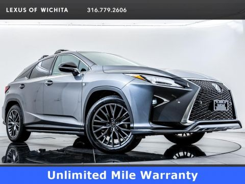 Certified Pre-Owned 2018 Lexus RX L/ Certified,F SPORT, Navigation, Moonroof