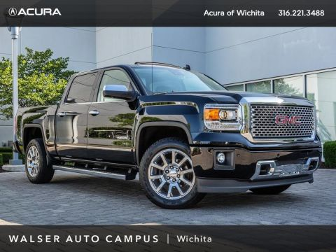 Pre-Owned 2015 GMC Sierra 1500 Denali, BOSE, Navigation, Moonroof, Rear View Cam
