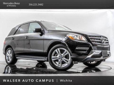 Pre-Owned 2015 Mercedes-Benz M-Class ML 350 4MATIC®, Navigation, Rear View Camera